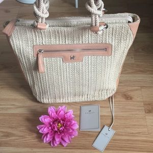 Radley London Straw Knot Tote